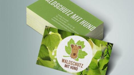 Waldschutz_mit_Hund_Visitenkarten