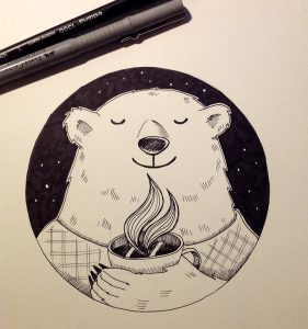 Inktober_03_Roasted